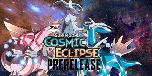 Pokémon Cosmic Eclipse pre-release at Geek Home