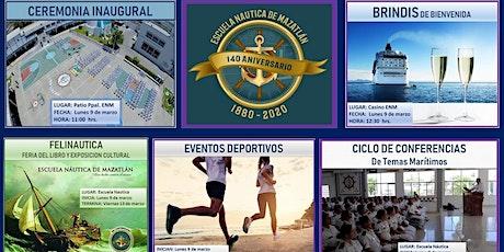 140º Aniversario Escuela Náutica de Mazatlán tickets