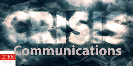 PR: Crisis Communications Workshop tickets