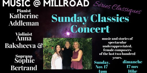 Music@ Mill Road Sunday Classics Concert