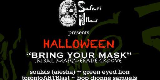 "Safari Nites - HALLOWEEN ""Bring Your Mask"" Masquerade Party"