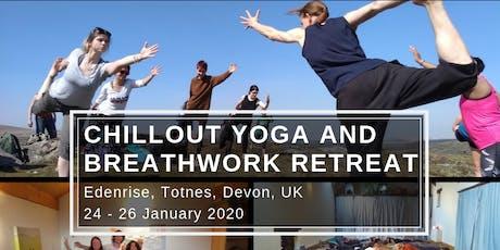 3 Day Chillout Yoga & Breathwork Retreat in Devon tickets