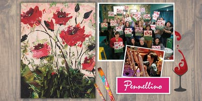 Evento di pittura social - Poppies!