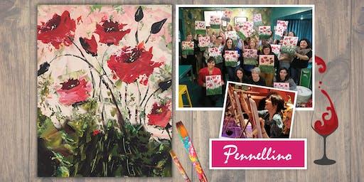 Evento di pittura social - Poppies!