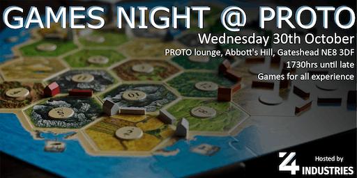 Games Night @ PROTO 2