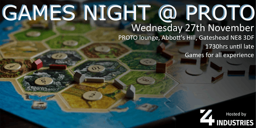 Games Night @ PROTO 4