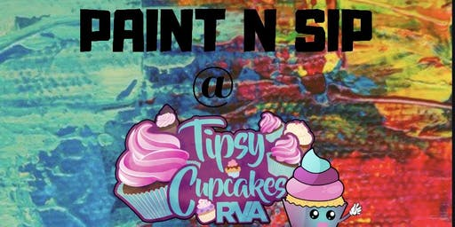 Paint n Sip at Tipsy Cupcakes RVA
