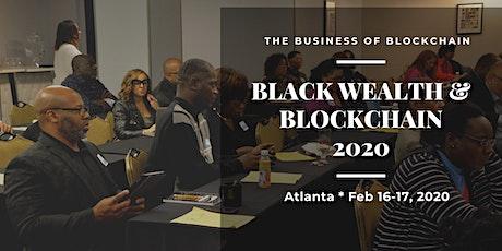 Black Wealth and Blockchain 2020 tickets
