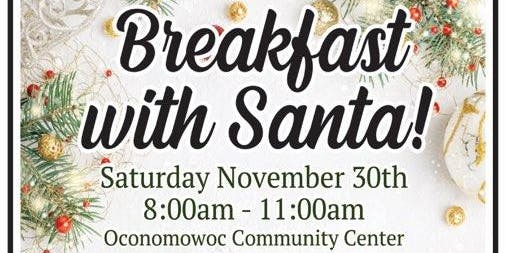Breakfast with Santa!  Featuring live holiday music from OHS Jazz Band!