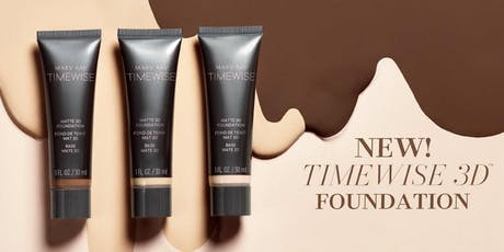 MARY KAY TIMEWISE SEAMELESS SKIN 3D FOUNDATION LAUNCH PARTY tickets