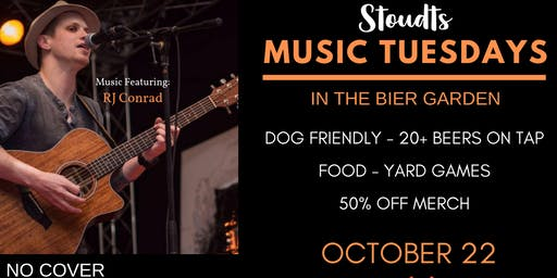 Stoudts Music Tuesday with RJ Conrad