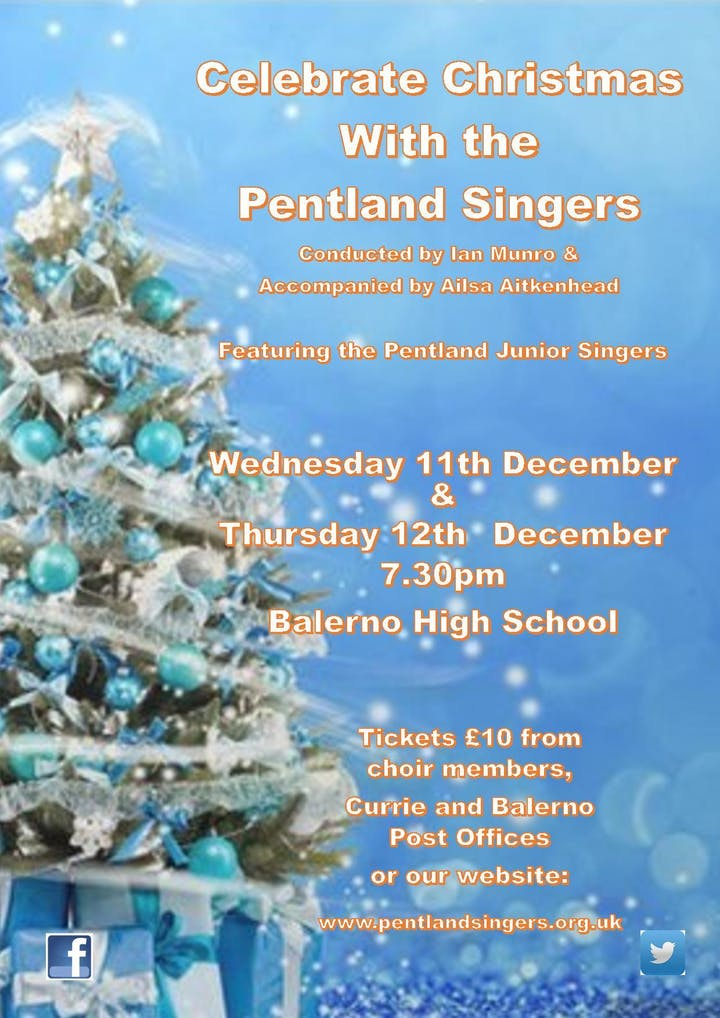 United Kingdom Christmas Traditions.Celebrate Christmas With Pentland Singers