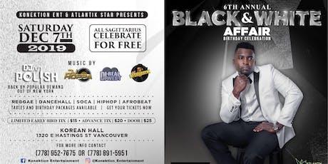 The 6th Annual Black & White Affair 2019 tickets