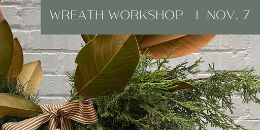 Meraki Floral Co. Wreath Making Workshop