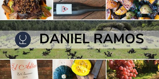 A  Spanish natural wine dinner with Daniel Ramos