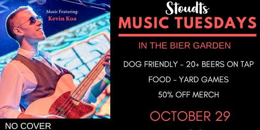 Stoudts Music Tuesday with Kevin Koa
