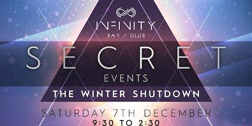 SECRET EVENTS @ INFINITY LONDON CLUB