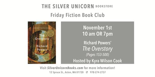 Friday Fiction Book Club: The Overstory (Pages 153-500)