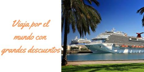 Club de Cruceros - Diviértete viajando por el mundo con grandes descuentos!