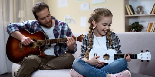 HOLIDAY 4 -Week Ukulele Class for Youth and Family (Single Class)