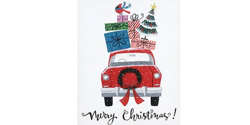 Painting Class - Merry Christmas Car - November 16th, 2019