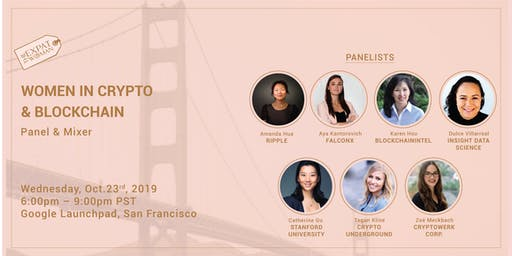 Women in Crypto and Blockchain Panel & Mixer
