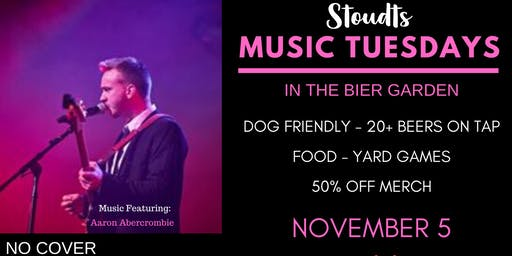 Stoudts Music Tuesday with Aaron Abercrombie