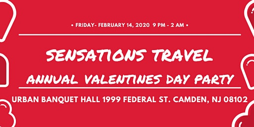 Sensations Travel Annual Valentines Day Party