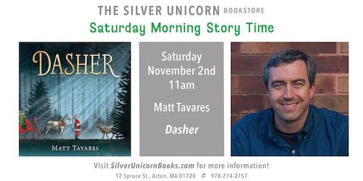 Saturday Morning Story Time: Matt Tavares