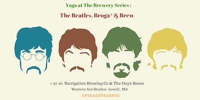 Yoga at the Brewery :  Broga®, Beatles & Brew