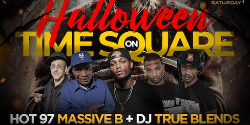 This Saturday Halloween On Times Square w/ Hennessy Open Bar