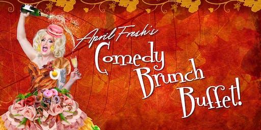 April Fresh's Comedy Brunch (November Edition)
