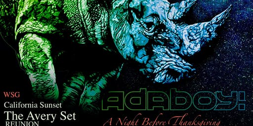 Biggest Bar Night of the Year with Adaboy! /wsg
