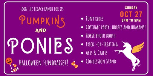 Pumpkins and Ponies Fundraiser