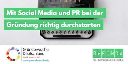 Mit Social Media und PR bei der Gründung richtig durchstarten