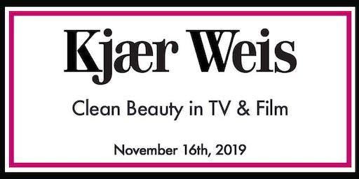 Kjaer Weis: Clean Beauty in TV & Film