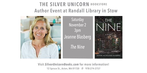 Author Event: Jeanne Blasberg at Randall Library in Stow