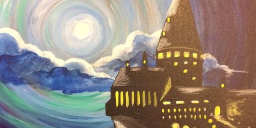 Halloween Painting Party and Wizard Trivia