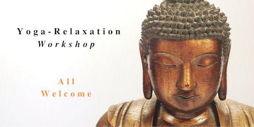 YOGA-RELAXATION GALWAY WORKSHOP Saturday 16 November 10-11:30am
