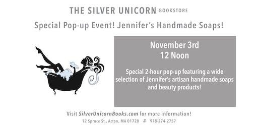 Special Event: Jennifer's Handmade Soap Pop-up!