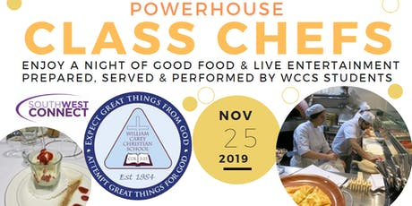 WCCS Powerhouse Class Chefs tickets