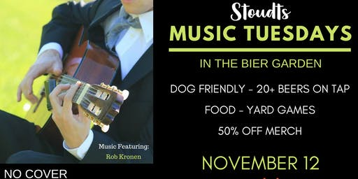 Stoudts Music Tuesday with Rob Kronen