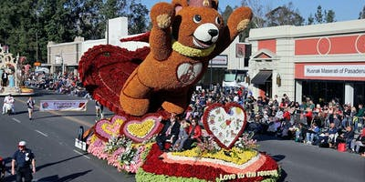 Rose Parade Post Float Tours 2020