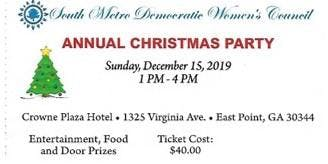 SMDWC Holiday Party