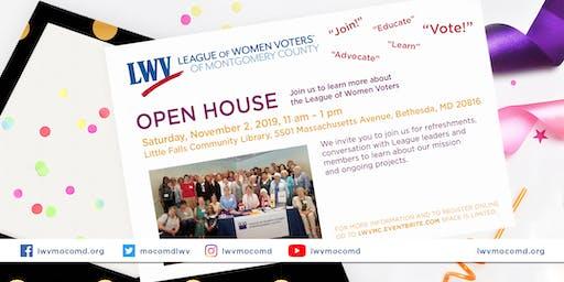 League of Women Voters Open House