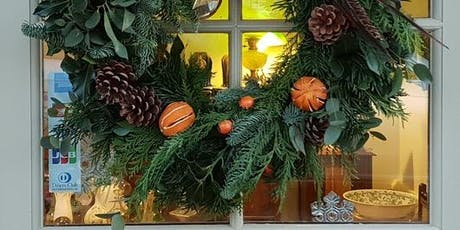 Festive Wreath Making Workshop with Spotted Dog Flowers tickets