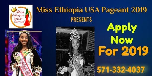 Miss Ethiopia USA Pageant 2019