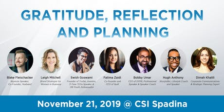 Toronto Linkedin Local - Gratitude, Reflection and Planning tickets