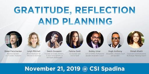 Toronto Linkedin Local - Gratitude, Reflection and Planning