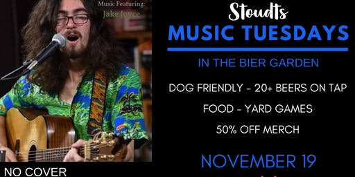 Stoudts Music Tuesday with Jake Joyce